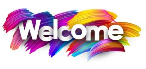 Welcome Blog post header banner